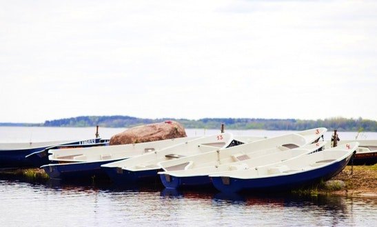 Rent Pella Dinghy In Burtnieki, Latvia