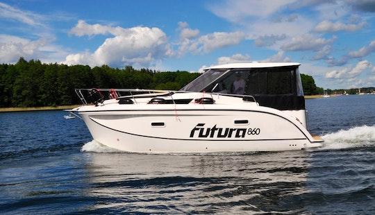 Futura 860 Motor Yacht Charter In Giżycko