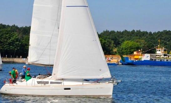 Charter 36ft Sailing Yacht In Riga, Latvia