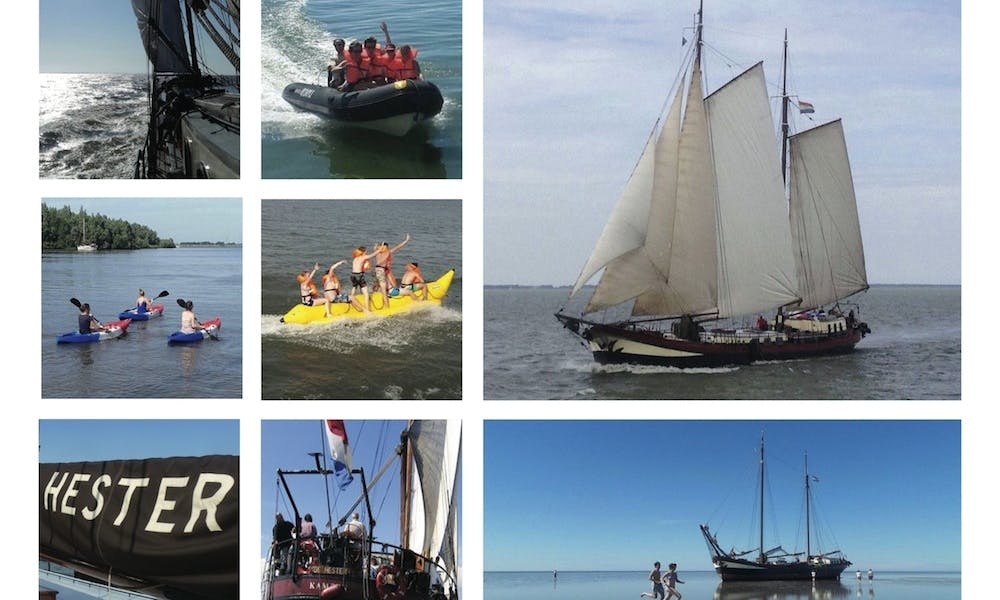 Sail with Clipper De Hester from Kampen