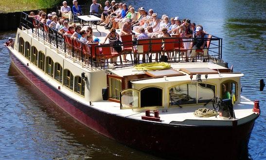 Enjoy Boat Tour On Passenger Boat In 's-hertogenbosch, Netherlands