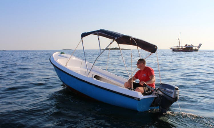 Rent Elan Pasara 8 Dinghy in Poreč, Croatia