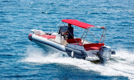 Rent Marlin Dynamic Rigid Inflatable Boat In Krk, Croatia