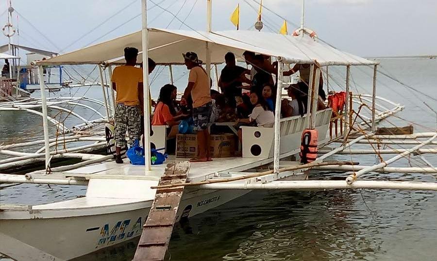 Memorable Trip Aboard Traditional Boat in Cordova, Philippines