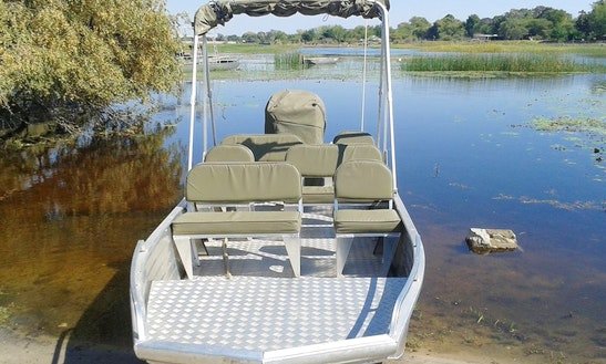 Charter A Pontoon Boat In Maun, Botswana For Up To 10 People