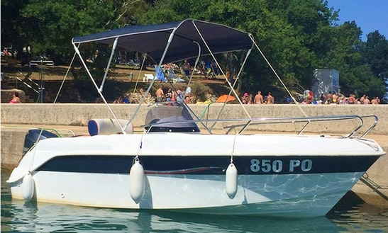 Rent 17' Marinello Eden Center Console In Poreč, Croatia