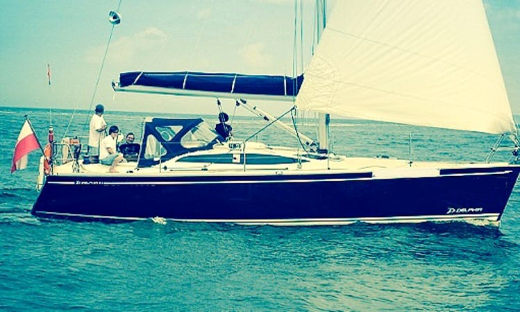 Delphia 37.3 Sailing Monohull Charter in Lubczyna