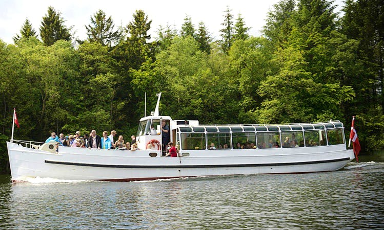 "Charter this ""Ternen"" Canal Boat in Silkeborg, Denmark"