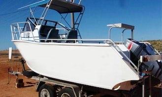 Enjoy 18' Cuddy Cabin for Rent in Exmouth, Western Australia