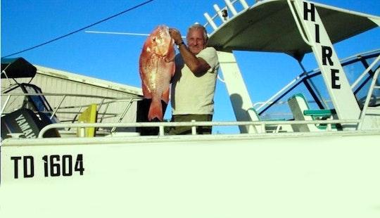 Enjoy 21' Cuddy Cabin Fishing Boat In Exmouth, Western Australia