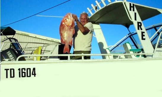 Enjoy 21' Cuddy Cabin Fishing Boat In Exmouth, Western Australia