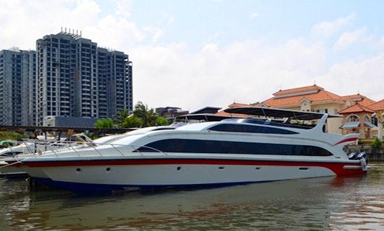 Charter Pramuka Express Passenger Boat In Pademangan, Indonesia