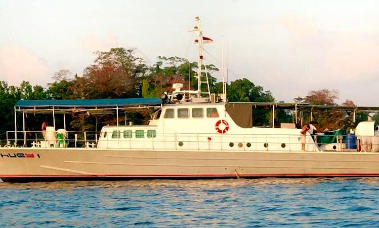 Book the 82' Huey Customs Patrol Vessel in North Jakarta, Indonesia
