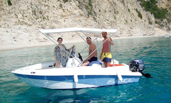 Rent Stelari Boat  In Paleokastritsa, Greece