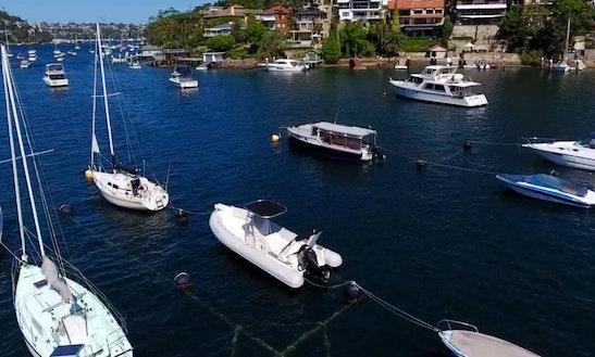 Speedboat For Rent On Sydney Harbour