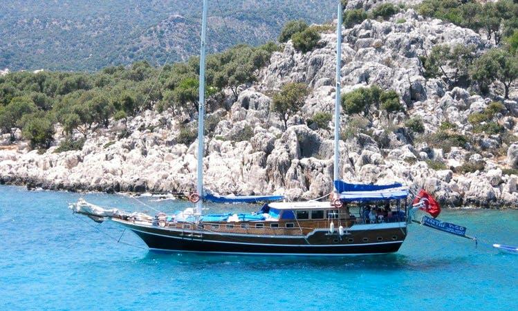 Sailing Gulet Rental in Rhodes