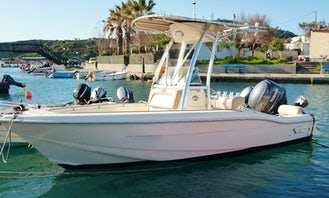 SCOUT SF 195 Center Console Rental in Rodos, Greece