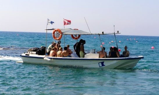 (12 Pax ) Diving  Passenger Boat In Limassol
