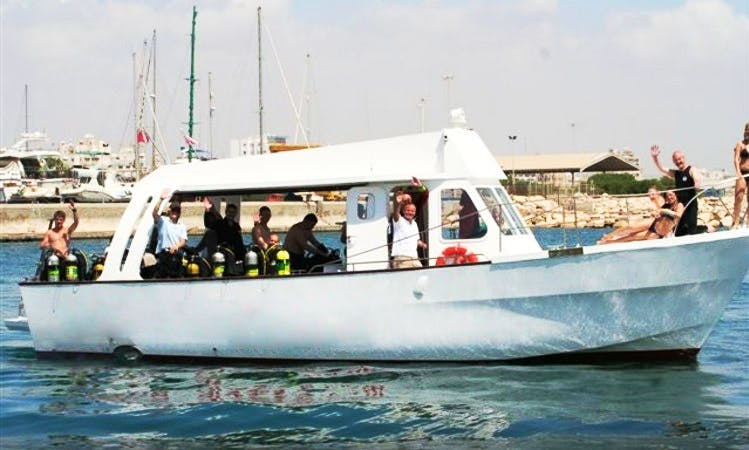 "The ""Kalypso II"" Dive Boats In Larnaka"