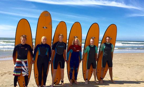 Surfboard Rental In Bloemendaal, Neatherland
