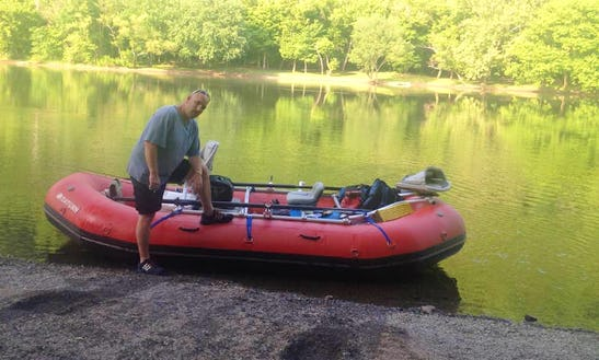Enjoy Fishing On Raft Boat In Sevierville, Tennessee