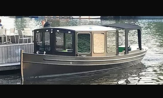 Captained Canal Cruises  Aboard A 12 Passengers Private Canal Boat
