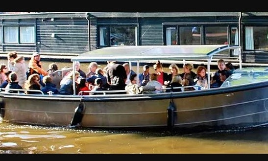 Rent This 30 People Sloep Open Boat And Enjoy Amsterdam Canal
