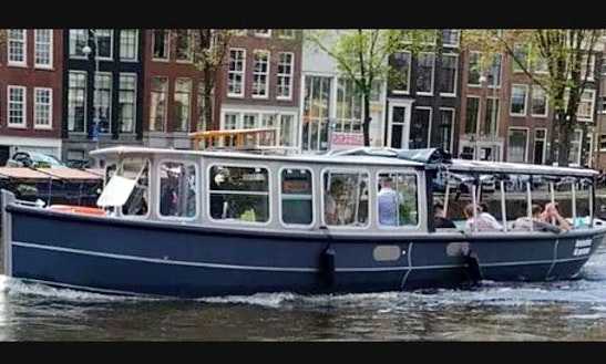 Large Saloonboats Rental In Amsterdam