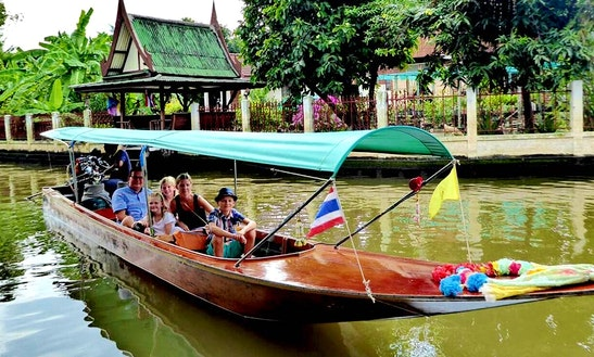 Take A Private Charter On Riverboat  In Bangkok, Thailand
