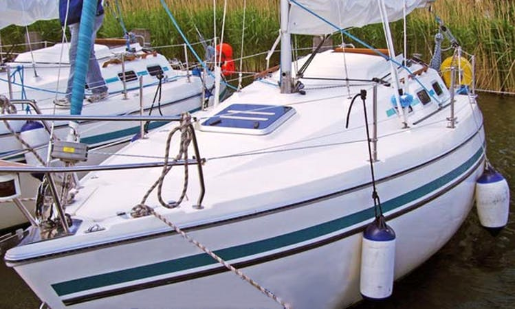 25' Sailing Charter in Klink Germany