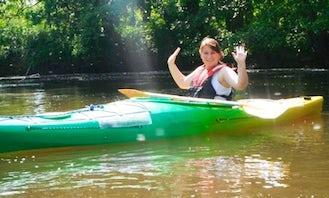 Single Kayak Rental & Tours in Ustka, Poland