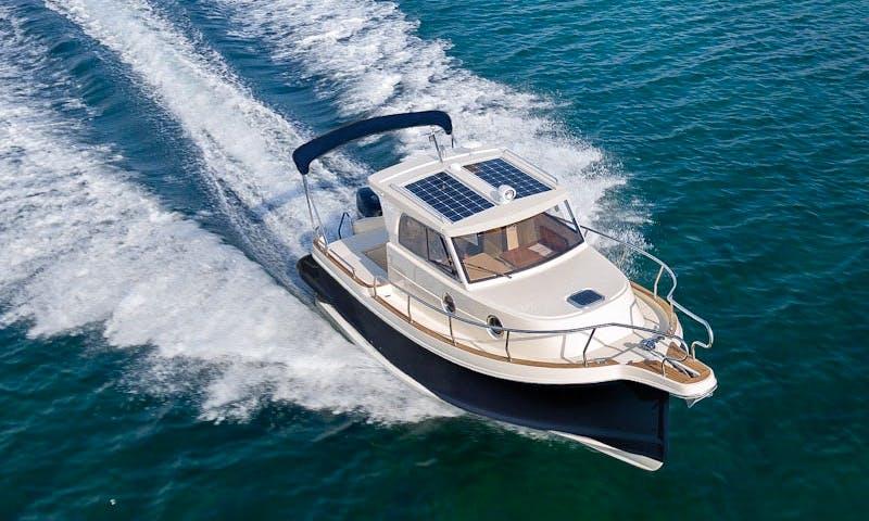 Explore and Enjoy Pula on a Motor Yacht Cruise