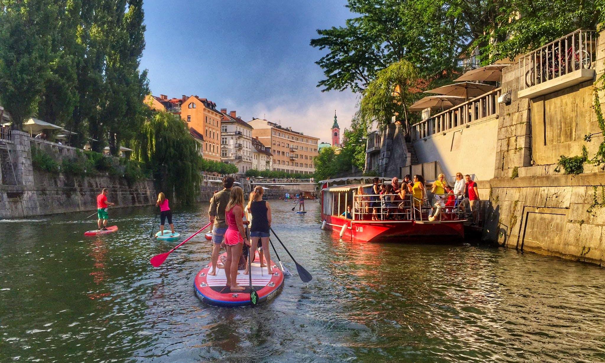 Stand Up Paddleboarding Tour in Ljubljana