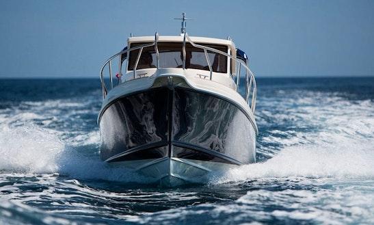 Motor Yacht Fishing Charter In Pješčana Uvala