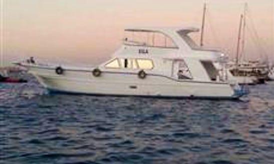 Enjoy Fishing In Ismailia, Egypt On Motor Yacht
