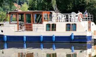 """Kormoran 1140"" Motor Yacht Charter in Rechlin"