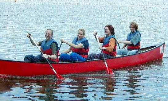 4-seater Canoe Rental In Mirow