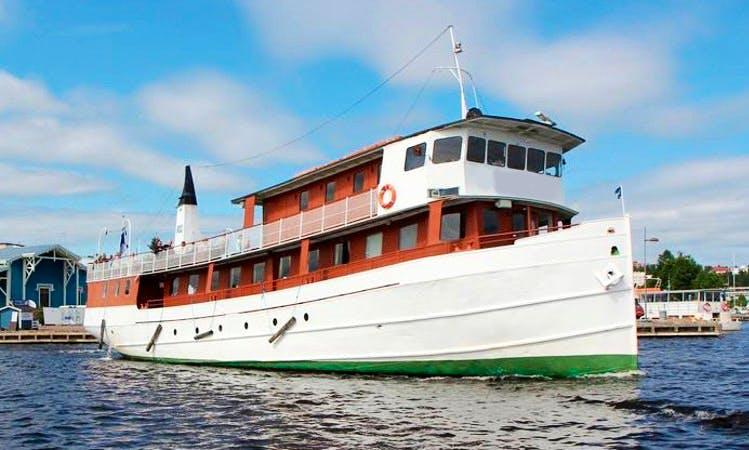 Charter Cruising  Yacht in Finland