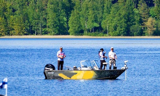 Once In A Lifetime Fishing Adventure In Mäntsäläon, Finland