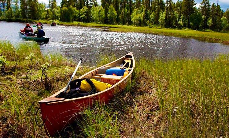 Canoe Rental in Jokkmokk