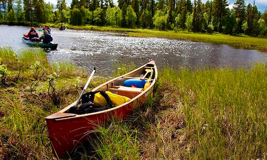 Canoe Rental In Jokkmokk