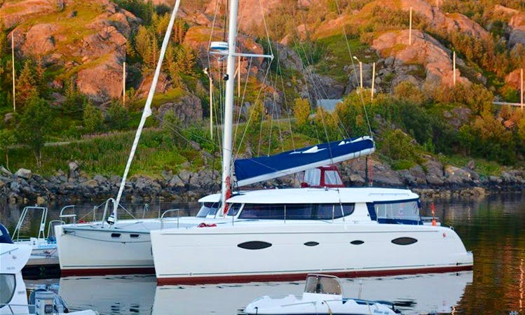 Charter 48' Cruising Catamaran in Troms, Norway