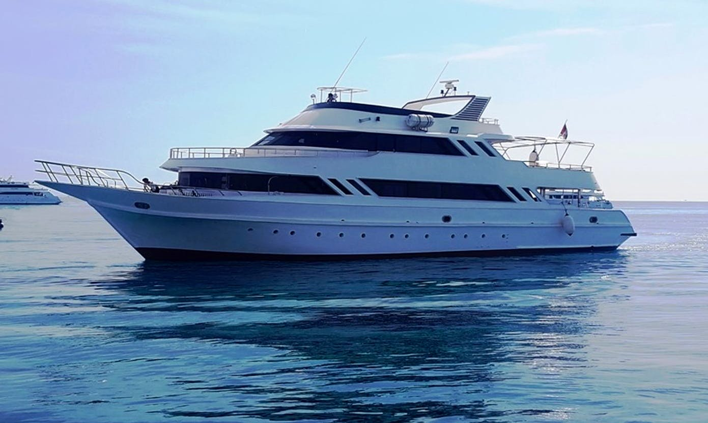 Charter 115' MY Hadal Power Mega Yacht in Red Sea Governorate, Egypt