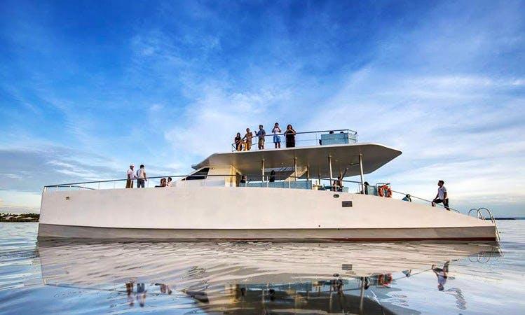 Charter 72' Power Catamaran in Lapu-Lapu City, Philippines