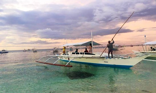 Charter A Traditional Boat In Panglao, Philippines Going To Balicasag Island And Virgin Island