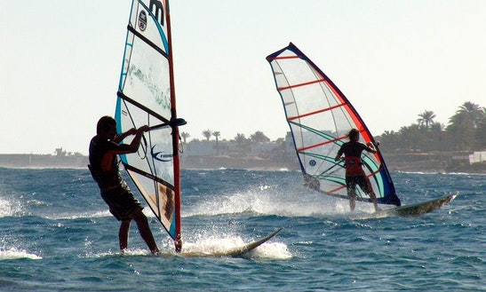 Enjoy Windsurfing In Alexandria Governorate, Egypt