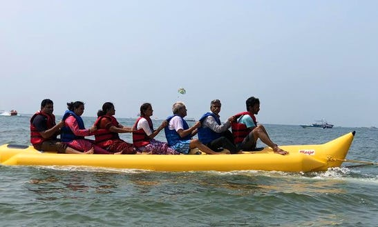 Go For A Banana Boat Ride In Malvan, India