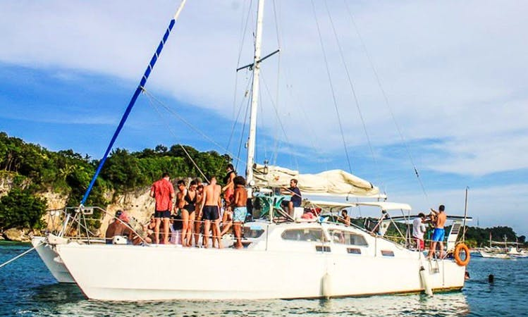 Charter 44' Cruising Catamaran in Malay, Philippines - For Party Boat Cruise