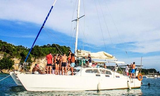 Charter 44' Cruising Catamaran In Malay, Philippines