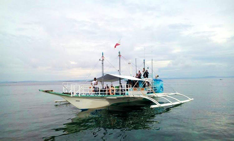 Traditional Pinoy Boat for 20 Person in Cordova, Philippines!